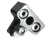 Integrated Diamond Scribing Wheel and Holder